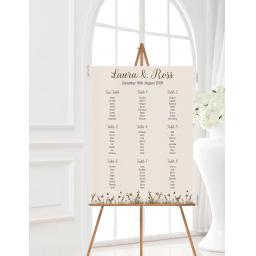 Woodland Wedding Table Planner