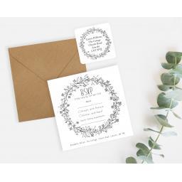 Wedding Wreath (Natural) - White - RSVP Sticker Set - LAYOUT.jpg