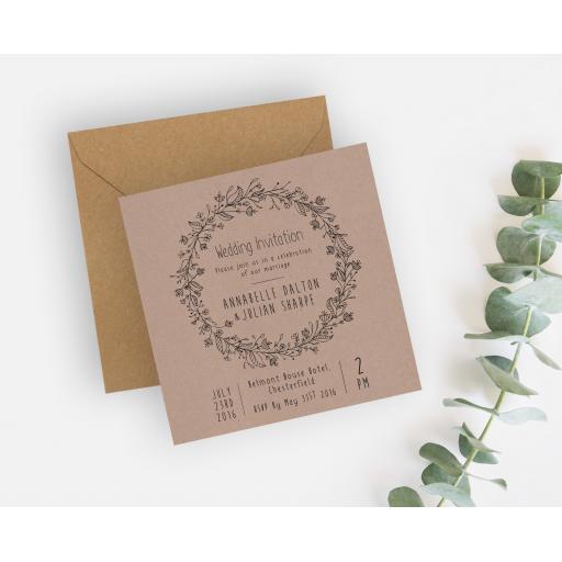 Wedding Wreath (Natural) - Kraft - 140mm Invite - LAYOUT.jpg