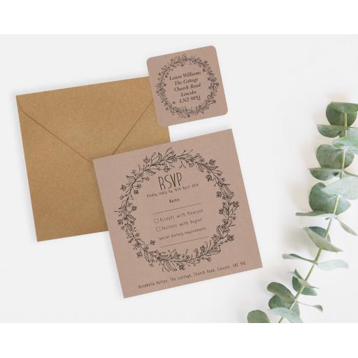Wedding Wreath (Natural) - Kraft - RSVP Sticker Set - LAYOUT.jpg