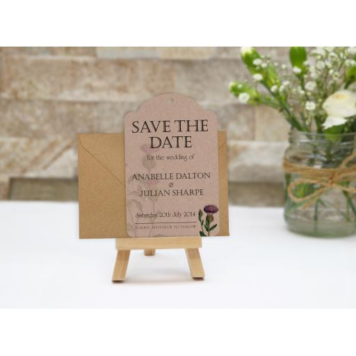 Botanical Thistle - Kraft - Luggage Tag - Save the Date - LAYOUT.jpg